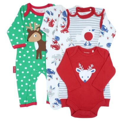 baby clothes bundle deer and robin