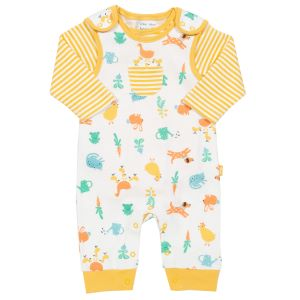 babywear dungaree set to rent consisting of dungaree and LS body