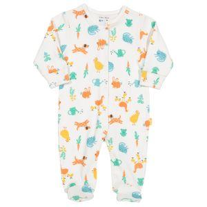 farm garden organic baby clothing rental sleepsuit