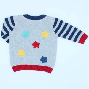 cars baby jumper in organic cotton to rent