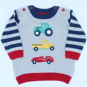 0-3 months organic cars jumper to rent