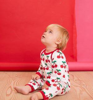 cherry sleepsuit