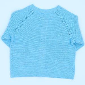 baby clothing rental turquoise cardigan