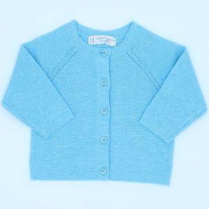 0-3 months baby clothing rental turquoise cardigan
