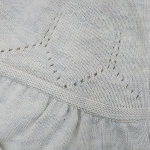 knit detail on yoke