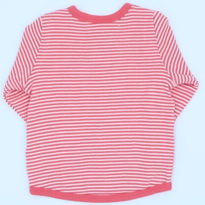 striped back of baby reversible jacket