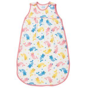 baby clothing rental sleeping bag with mercat print