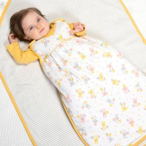 1.5 tog sleeping bag to rent with bunny and chick print
