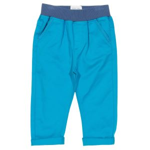 pull up baby trousers with contrast waistband rented clothes