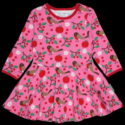 pink babywear rental skater dress