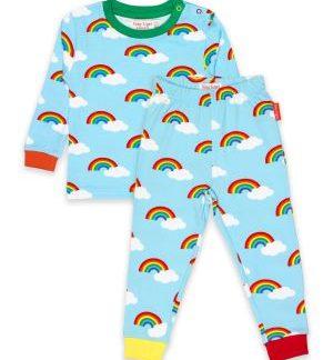rainbow baby clothing rental organic pyjamas