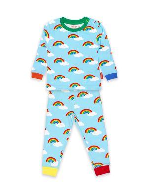 rainbow baby clothing rental pyjamas