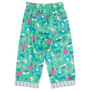 reversible baby trousers with turn ups to rent