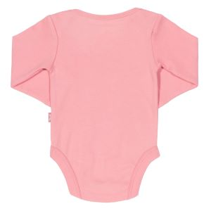 pink long sleeve baby clothing rental bodysuit