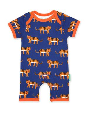 tiger print baby romper available to rent