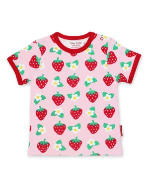 baby clothes to rent strawberry short sleeve top