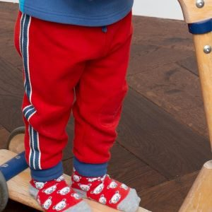 pull up baby jogging trousers with stripe clothes to rent