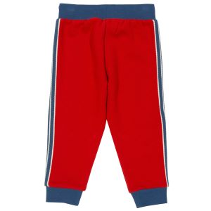 clothes to rent baby trousers in red with side stripe