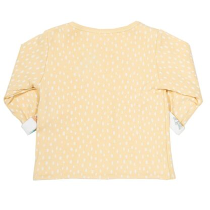 organic baby clothing rental jacket speckled