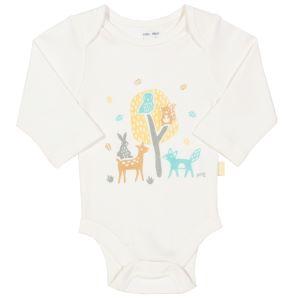baby clothing rental woodland print bodysuit