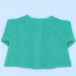 baby clothing rental cardigan with cat applique