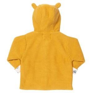 baby clothing rental mustard yellow knit jacket size 12-18m