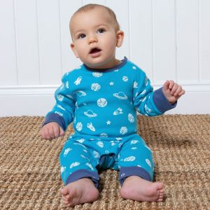 organic space baby romper 3-6 months, rental clothes