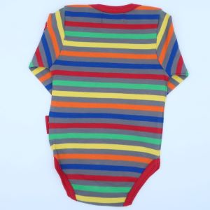 multi coloured bodysuit rental baby clothes