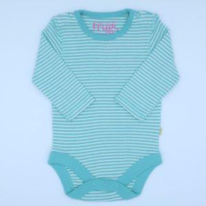 striped baby clothing rental bodysuit