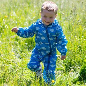 blue baby clothing rental puddlesuit
