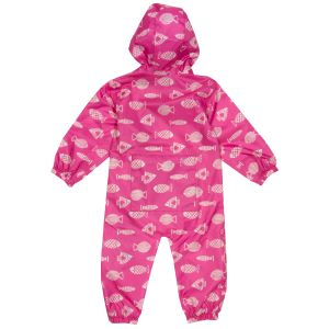pink lightweight baby puddlesuit to rent