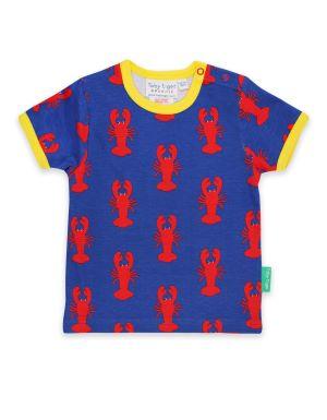organic babywear rental lobster print t-shirt