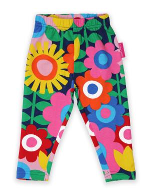 baby clothing rental organic flower power leggings