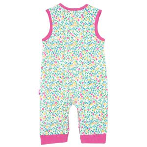 baby clothing rental wildflower dungarees in organic cotton