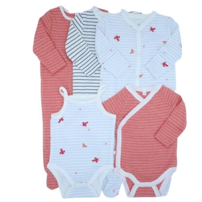 bamboo and organic baby bundle for girls
