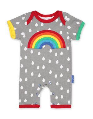 baby rental rainbow romper