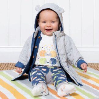 grey baby country coat to rent