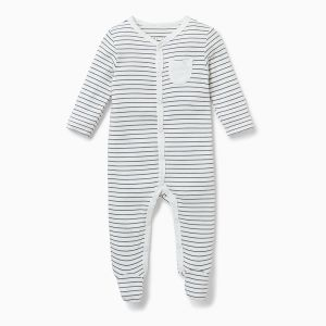 organic cotton and bamboo baby clothes rental sleepsuit