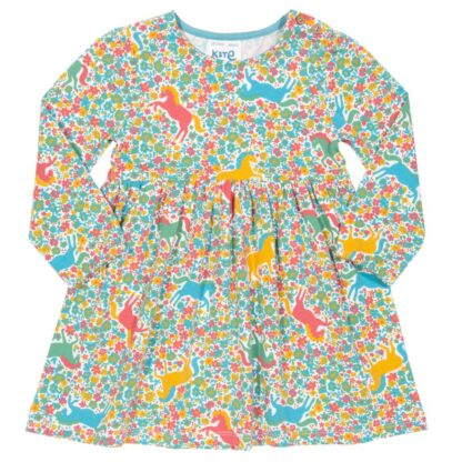 organic cotton floral baby dress rental