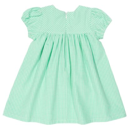organic gingham baby dress to rent