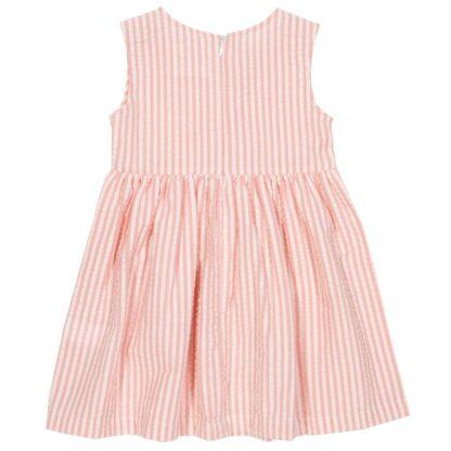 baby clothes rental pink organic dress