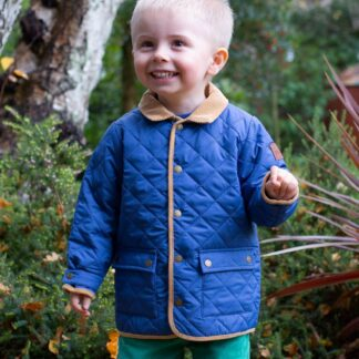 baby clothes rental blue lightly padded coat