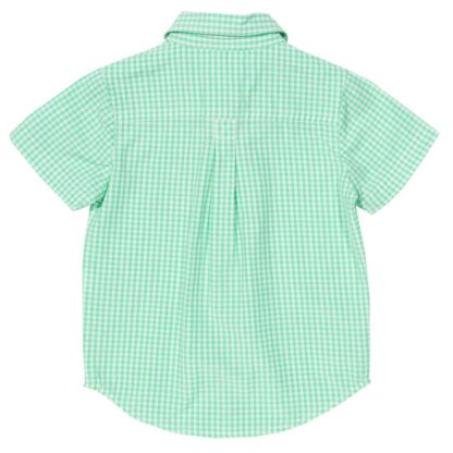 baby clothes rental gingham shirt