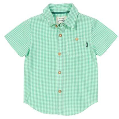 organic gingham shirt baby clothes rental