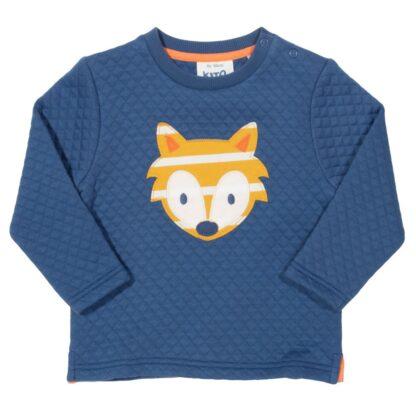 blue cub applique sweatshirt to rent