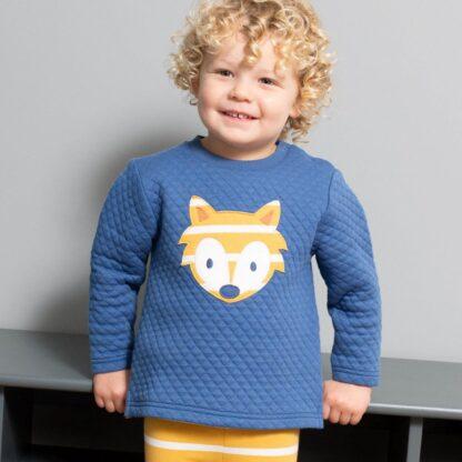 baby clothes rental blue cub sweatshirt