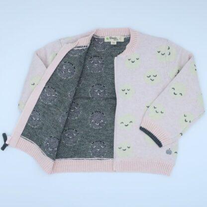 baby clothing rental premium pink cardigan