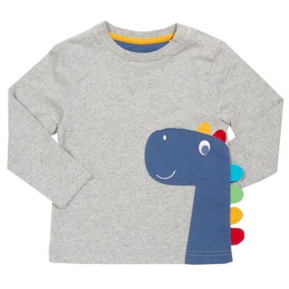 organic babywear rental dinosaur top