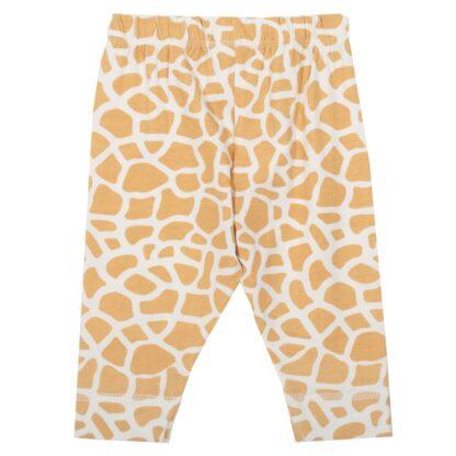 giraffe print baby clothing rental leggings