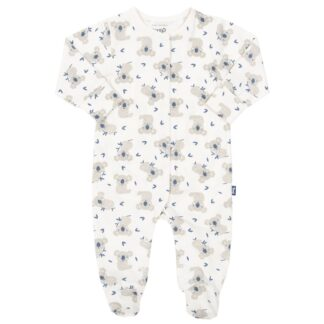 certified organic cotton baby sleepsuit with little joey print to rent